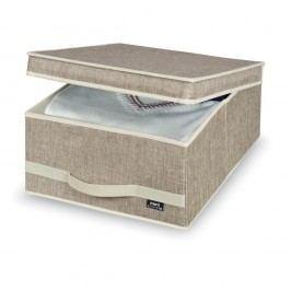 Středně velký úložný box Domopak Living Maison Úložné krabice akošíky