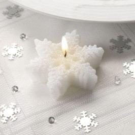 Sada 3 svíček Neviti Snowflake