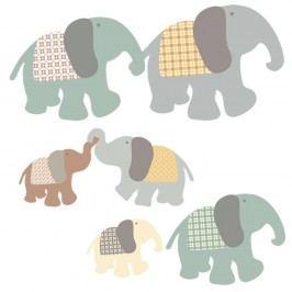 Nástěnné samolepky Art For Kids Elephant Family