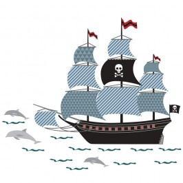 Nástěnné samolepky Art For Kids Pirate Ship