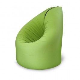 Zelená rozkládací postel s křesílkem Paq Bed