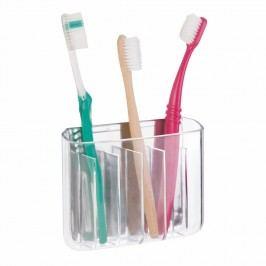 Nástěnný držák na zubní kartáčky InterDesign Una Divided