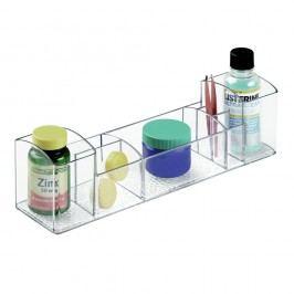 Transparentní organizér iDesign Med+,délka30,5cm