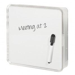 Nástěnná popisovatelná krabička na klíče InterDesign Linus, 21,5x21cm