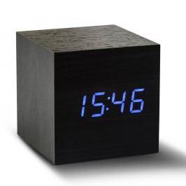 LED budík Click Clock Maxi Black Hodiny abudíky