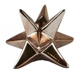 Svícen KJ Collection Star Copper, 7,3 cm