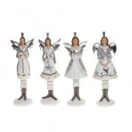 Sada 4 dekorativních sošek Ewax Angels II