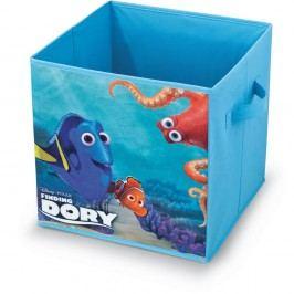 Modrý úložný box na hračky Domopak Finding Dory, délka32cm