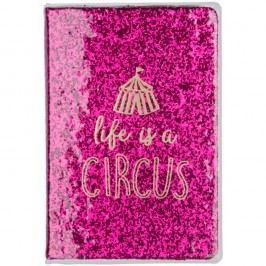 Růžový zápisník Tri-Coastal Design Circus