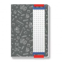 Šedý zápisník A5 LEGO®
