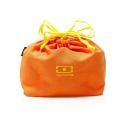 Oranžový obal na obědový box Monbento