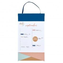 Nástěnný narozeninový kalendář s lepíky Busy B Birthday