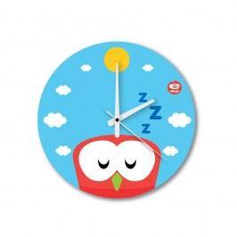Skleněné dětské nástěnné hodiny e-my Buondi