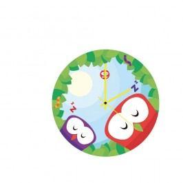 Skleněné dětské nástěnné hodiny e-my Dreaming