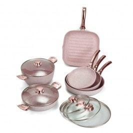 10dílný set nádobí Bisetti Stonerose