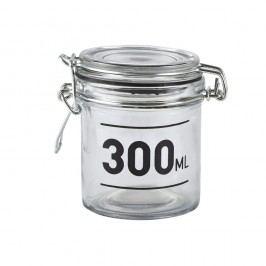 Skleněná dóza s víkem KJ Collection Jar, 300 ml
