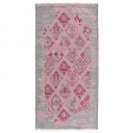 Růžovo-šedý oboustranný koberec Homemania Maleah, 77x200cm