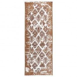 Béžovohnědý oboustranný koberec Homemania Halimod, 77x200cm