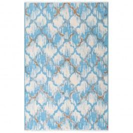 Hnědomodrý oboustranný koberec Homemania Marama, 120x180cm