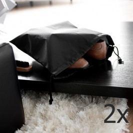 Sada 2 černých pytlíků na obuv Compactor Bags
