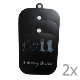 Sada 2 výztuží do vysokých bot Compactor
