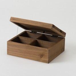 Úložný box z jedlového dřeva Compactor Vintage, šířka18,2cm Úložné krabice akošíky