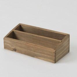 Úložný box z jedlového dřeva Compactor Vintage, šířka18,5cm