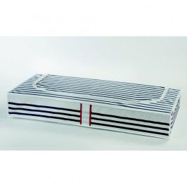 Úložná krabice na oblečení pod postel Compactor Stripes