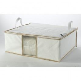Bílý úložný box Compactor