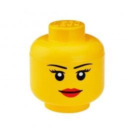 Úložný panáček LEGO® Girl, ⌀24,2cm Úložné krabice akošíky