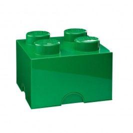 Zelený úložný box čtverec LEGO® Úložné krabice akošíky