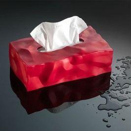 Červený box na kapesníčky Essey Wipy II