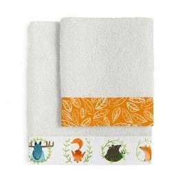 Set osušky a ručníkuLittle W Brave