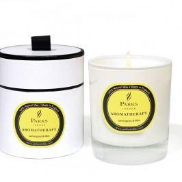 Svíčka s vůní citronové trávy a máty Parks Candles London, 45 hodin hoření Svíčky aaromalampy
