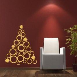 Vánoční samolepka Ambiance Christmas Tree Design Tapety análepky