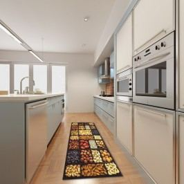 Vysoce odolný kuchyňský běhoun Floorita Semi, 60 x 150 cm