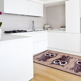 Vysoce odolný kuchyňský koberec Floorita Gufocaffe, 60x220cm