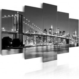Vícedílný obraz na plátně Artgeist Dream about New York 200x100cm Obrazy, rámy atabule