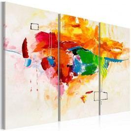 Vícedílný obraz na plátně Artgeist Parrot, 60 x 40 cm Obrazy, rámy atabule