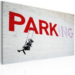 Obraz na plátně Artgeist Parking, 60 x 40 cm