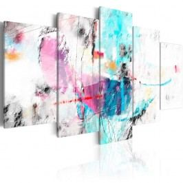 Vícedílný obraz na plátně Artgeist So Gentle, 200x100cm Obrazy, rámy atabule