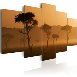 Vícedílný obraz na plátně Artgeist Savana, 200 x 100 cm