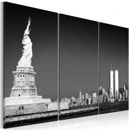 Vícedílný obraz na plátně Artgeist Statue of Liberty, 120x80cm
