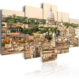 Vícedílný obraz na plátně Artgeist Roofs, 100 x 50 cm