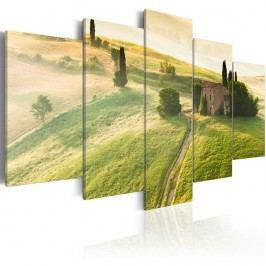 Vícedílný obraz na plátně Artgeist Green Tuscany, 200 x 100 cm