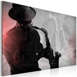 Obraz na plátně Artgeist Urban Jazz, 60 x 40 cm