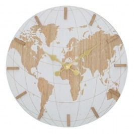 Nástěnné hodiny Mauro Ferretti White World, ⌀ 39 cm