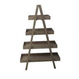 Stojan z jedlového dřeva Mauro Ferretti Stairway,výška 140cm
