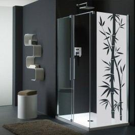 Voděodolná samolepka do sprchy Ambiance Bamboo, 195 x 55 cm