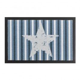 Rohožka Zala Living Star Stripes Blue, 40x60 cm